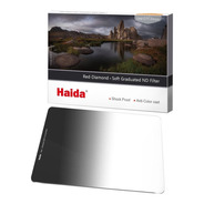 Filtro Haida Hd4277  Red Diamond Soft Grad Nd Graduado 0.9 8x 3 Pasos  Rectangular 100x150 2 Mm Espesor