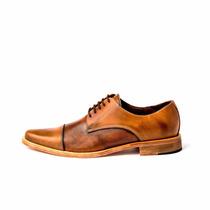 Zapato Pasotti Pordenone Acordonado Clásico Puntera Partida