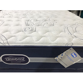 Colchón Simmons 140x190 Recharge Classic Beautyrest Plus