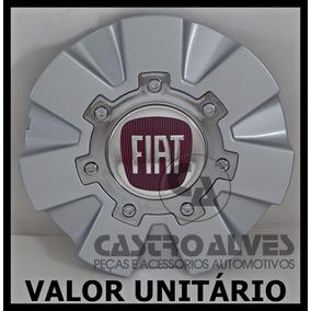 Calota P/ Roda Liga Leve Scorro Prata S174 Fiat Aro 14|15|17
