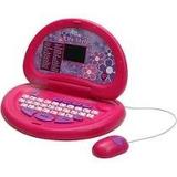 Laptop Life Style Rosa Infantil Menina 30 Atividades Candide