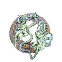 Escultura Figura Conquista Apariencia Bronce 1394