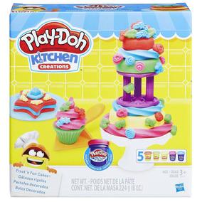 Massinha Play-doh - Bolos Decorados