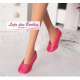 Sapato P/ Boneca Blythe * Pullip * Sapatinho Luxo * Pink