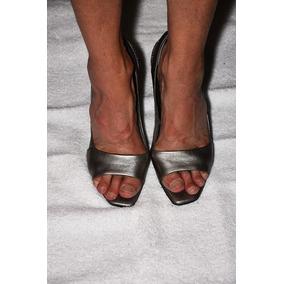 Stilettos Sarkany,color Peltre Preciosos