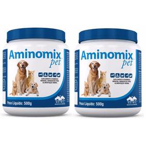 Aminomix Kit 2un Pet 500g - Vetnil (val.03/19)