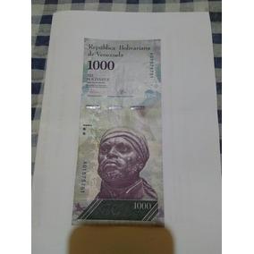 Cedula 1000 Bolivares Fuertes Venezuela Fe Frete 7$