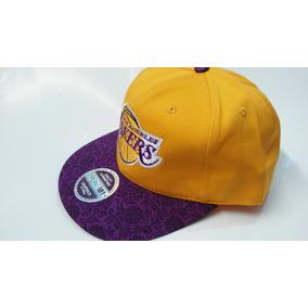 Gorra Visera Plana Snapback Nba Lakers Swag Hip Hop