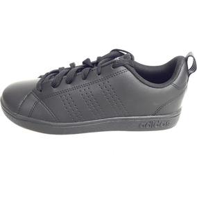 Original Tenis adidas Vs Advantage Clean Kids Casual Negro