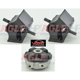 Kit 3 Soportes Motor/trans Vw Pointer 1997-2010 1.8/2.0l