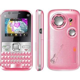 Celular Mobile Tv Q5 Mp15 Rosa Som Potente Dual Chip Rosa