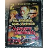 Dvd Nuevo 2 Peliculas El Poder Del Narco/sangre Indomable