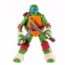 Boneco Tartarugas Ninja Leonardo Gigante 55cm Mimo