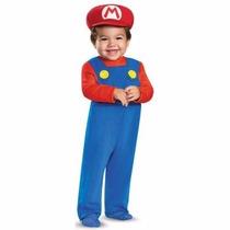 Disfraz De Mario Bros Para Bebes Envio Gratis
