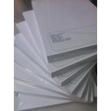 Cartulina Opalina Blanca 200grs. 100 Hojas Carta