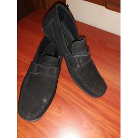 Zapatos Full Time De Caballero Color Negro ¡oferta!