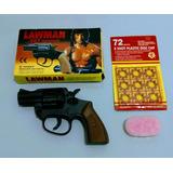 Revolver De Brinquedo Antigo Lawman Do Rambo Anos 80