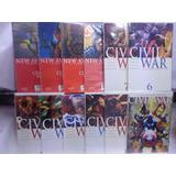 Civil War Serie Completa 53 Comic Marvel Televisa 2007-2009