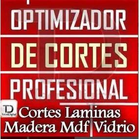 Programa Optimizador Cortes Lamina Tablero Madera Mdf 2017