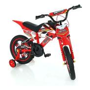 Bicicleta Moto Cross Aro 16 Com Som De Moto