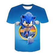 Polera Sonic Modelo 3 Niño Niña