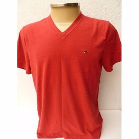 Tommy Hilfiger : Camisa Básica Masculina Gola V Tam M