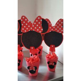 Centro De Mesa Minnie- Mickey