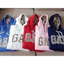 Moletom Blusa Gap Oncinha Agasalho Frio Feminino Adidas Gap