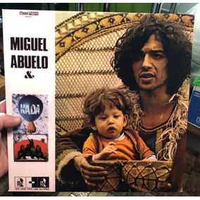 Miguel Abuelo & Nada. 1975 Vinilo Original Francia Mint