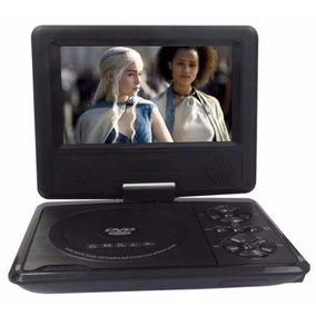 Dvd Portátil Tv Digital Lcd Gira 270º Sd Usb Fm 7 Pol.