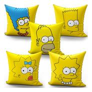 Kit 5 Almofadas Os Simpsons