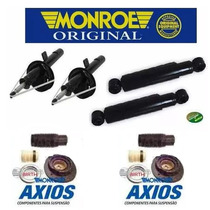 Amortecedores + Kit Batente 206 207 - Original Monroe Axios