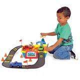 Brinquedos Menino Lava Jato Playset Com Carrinhos Mcs006