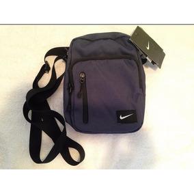 Bolso Nike Cruzado Original Color Azul Oscuro