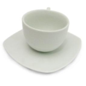 Loza 24 Piezas Para Cafe. 12 Tazas Y 12 Platos Elegance