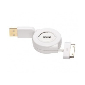 (oferta 50%)cable Sincron Retractil Idock Usb 1 M Pickens