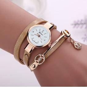 a1a5506c838 Couro De Ba Braceletes - Relógios no Mercado Livre Brasil