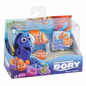 Kit Robo Fish - Procurando Dory - Nemo, Dory E Marlin - Dtc