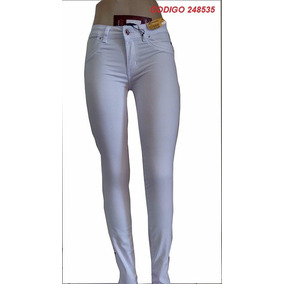 Calça Jeans Branca Sawary - Leg Lycra Amaciada- 248535