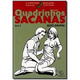 Livro - Quadrinhos Sacanas - Livro 3 - Verde - Caixa 2