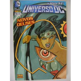 Universo Dc Nº 15 Os Novos 52 Ed. Panini Est99