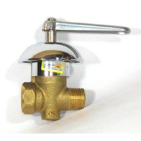 Llave De Gas 25mm Con Campana Decorativa Fv 0822/25-cr