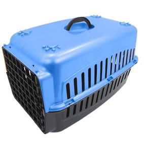 Caixa De Transporte Pet Para Cachorro Ou Gato 48x32x28cm