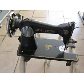 Máquina De Costura Mercswiss Antiga Raridade