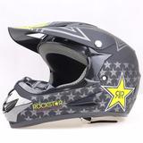 Casco Rockstar Para Moto, Motocross, Honda, Pulsar, Rtm,lifa
