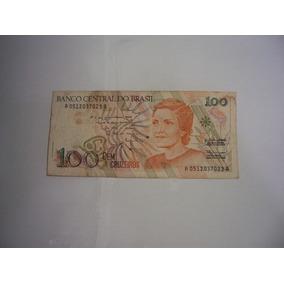 Cédulas, Notas Antigas 100 Cruzeiros