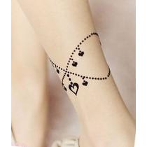 Meia Calça Tatuagem Falsa