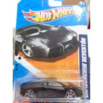 Cibergatito Lamborghini Reventon Negro (con Vena) Hot Wheels