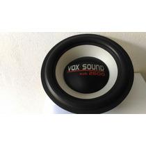 Kit Reparo Alto Falante 12pol Vox Sound Vox12 2600 Sub Origi