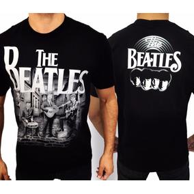 Camiseta The Beatles E637 Consulado Do Rock Camisa Banda